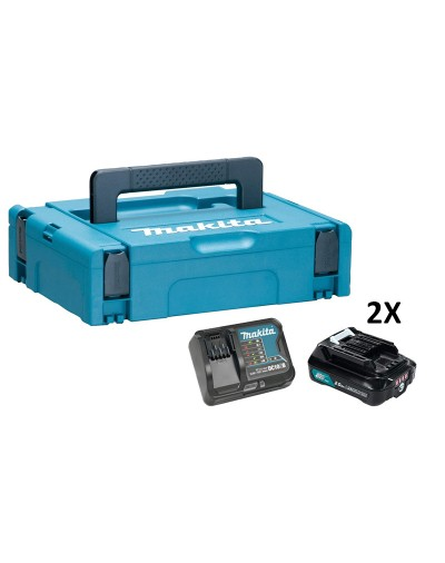 197658-5 MAKITA BATTERY KIT 12VMAX 2,0AH ΜΕ ΦΟΡΤΙΣΤΗ DC10SB