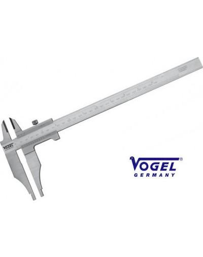 203303 Παχύμετρο Vogel Γερμανίας 300mm με βιδάκι με μακρια σιαγόνα