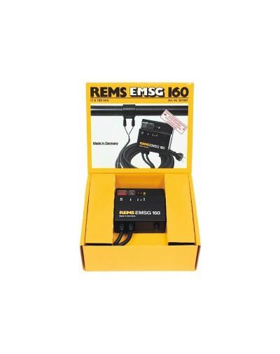 261001 REMS EMSG 160 ΣΥΣΚΕΥΗ ΣΥΓΚΟΛΛΗΣΗΣ ΗΛΕΚΤΡΟΜΟΥΦΩΝ, 230 V, 50 HZ, 1150 W