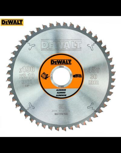 DT1912-QZ Διαμαντόδισκος κοπής για φορητά Dewalt 190 X 30 48T