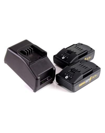 571590 REMS POWER-PACK 22V, 2.5AH/230V, 90W