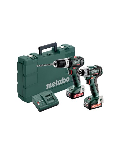 685165000 METABO 12 VOLT COMBO SET ΜΠΑΤΑΡΙΑΣ 2.7.5 12 V BL POWERMAXX SB 12 BL & POWERMAXX SSD 12 BL