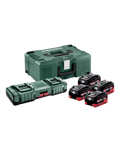 685180000 METABO ΣΕΤ ΦΟΡΤΙΣΗΣ 4 X LIHD 5.5 AH ASC 145 DUO + ML