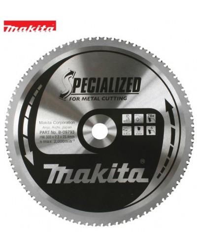 B-09793 Δίσκος κοπής μετάλλου Makita Specialized 305mm 25.4mm 78 δόντια