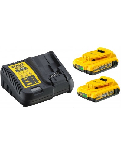 DCB115D2 18V XR 2 X 2.0AH BATTERY KIT