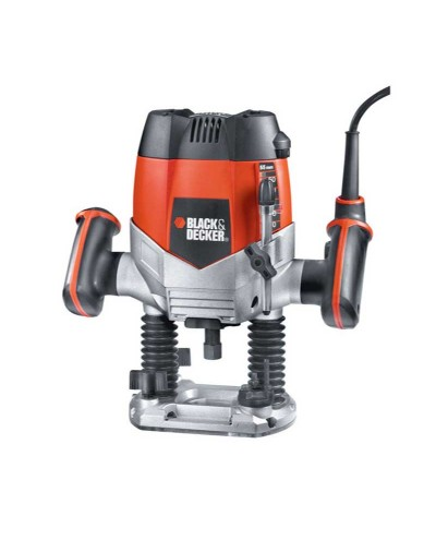 "KW900E Black & Decker 1/4"" Ρούτερ 1200W"
